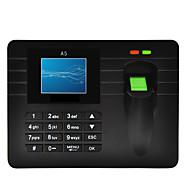 billige Tilgangskontrollsystem-A5 Attendance Machine Fingeravtrykk Kontor / Fabrikk