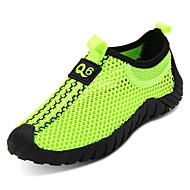 baratos Sapatos de Menino-Para Meninos Sapatos Borracha Primavera Conforto Tênis para Verde / Azul