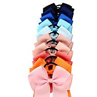 エラスティック&ネクタイ ヘアアクセサリー グログラン サテン ウィッグアクセサリー 女の子 10pcs 個 1-4インチ cm パーティー 日常 ブティック スタイリッシュ キュート 子供のための