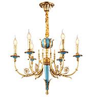 billige Takbelysning og vifter-ZHISHU Lysekroner Opplys - Krystall Mini Stil, Rustikk / Hytte Traditionel / Klassisk, 110-120V 220-240V Pære Inkludert