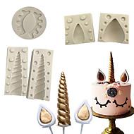 tanie Formy do ciast-Narzędzia do pieczenia Silikonowy Wielofunkcyjny Do naczynia do gotowania Formy Ciasta 5szt