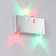 baratos Arandelas de Parede-4w moderno conduziu o corredor interno do sconce da parede acima abaixo da iluminação decorativa de alumínio da luz do ponto