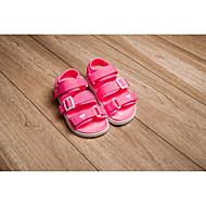 baratos Sapatos de Menino-Para Meninos / Para Meninas Sapatos Courino Verão Conforto Sandálias para Preto / Pêssego / Rosa claro