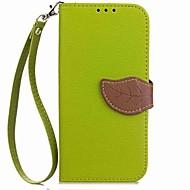 billiga Mobil cases & Skärmskydd-fodral Till Sony Xperia XA2 Xperia XA2 Ultra Korthållare Plånbok Lucka Magnet Läderplastik Fodral Växter Hårt PU läder för Xperia XZ1