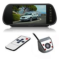 billiga Parkeringskamera för bil-ziqiao ccd bil omvänd bakifrån bildkamera parkering bakre parkeringssystem för vw volkswagen polo v (6r) / golf 6 vi / passat cc