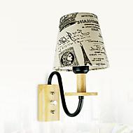 billige Vegglamper-Anti-refleksjon Rustikk / Hytte Vegglamper Stue Tre / Bambus Vegglampe 220-240V 40W