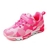 baratos Sapatos de Menina-Para Meninos / Para Meninas Sapatos Tule Primavera / Outono Conforto Tênis Corrida para Verde Tropa / Rosa claro