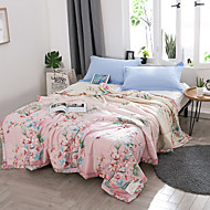 cheap Home Textiles-Comfortable 1pc Bedspread 1pc Quilt, Hand-made Reactive Print Floral Summer