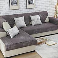 Χαμηλού Κόστους -Καναπές μαξιλάρι Μονόχρωμο Δραστική Εκτύπωση Βαμβάκι / Πολυεστέρας slipcovers