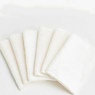 baratos Toalha de Mão-Qualidade superior Toalha de Mão, Sólido 100% algodão 6 pcs