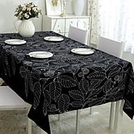 billige Bordduker-Moderne PVC / Ikke Vevet Kvadrat Bordskånere Broderi Borddekorasjoner 1 pcs