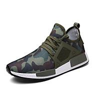 Per uomo Sneakers Scarpe casual TR (Termoplastica) Escursionismo Corsa Traspirante Comodo Non slip A rete Nero Verde