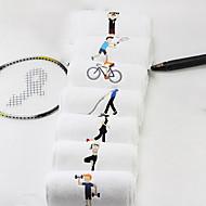 billiga Handdukar och badrockar-Överlägsen kvalitet Sport Handduk, Enfärgad / Tecknat 100% bomull / Ren bomull 1pcs