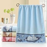 billiga Handdukar och badrockar-Överlägsen kvalitet Tvätt handduk, Tecknat Polyester / Bomull Blandning / Ren bomull 1 pcs