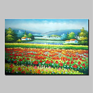 billiga Berömda målningar-Hang målad oljemålning HANDMÅLAD - Känd Landskap Traditionell Duk