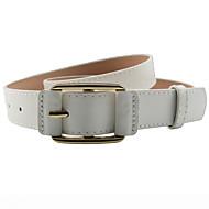 Mujer Legierung Cinturón de Cintura - Vintage / Trabajo / Básico Un Color / Poliuretano
