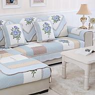 Χαμηλού Κόστους -Καναπές μαξιλάρι Φλοράλ Εκτυπωμένο Βαμβάκι / Πολυεστέρας slipcovers