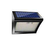 billiga Belysning-1st 5W Vägglampa Sol Infraröd sensor Vattentät Ljusstyrning Dekorativ Vit 3.7V Trädgård Gård Utomhusbelysning