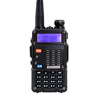 billige -baofeng håndholdt dobbeltbånd 5 km-10 km 5 km-10 km walkie talkie toveis radio / 136-174mhz / 400-480mhz intercom liten radio preofessional fm transceiver