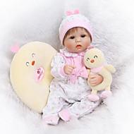 NPKCOLLECTION Autentične bebe 16 inch Silikon Dječjom Dječaci / Djevojčice Poklon