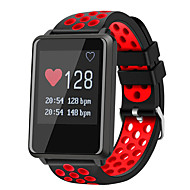 Smartur STF8 for Android iOS Bluetooth Vandtæt Pulsmåler Blodtryksmåling Touch-skærm Lang Standby Skridtæller Samtalepåmindelse Sleeptracker Find min enhed / Vækkeur / Skridttællere / Afstandssensor