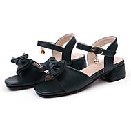 Djevojčice Cipele PU Ljeto Remen oko gležnja Sandale Mašnica za Vanjski Zabava i večer Crn Pink Badem