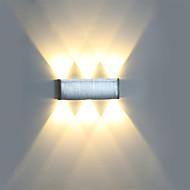 Χαμηλού Κόστους Φωτιστικά Καθρέφτη-OYLYW Mini Style Απλός / LED / Μοντέρνο / Σύγχρονο Λαμπτήρες τοίχου / Φωτισμός μπάνιου Σαλόνι / Υπνοδωμάτιο / Εσωτερικό Μέταλλο Wall Light 85-265 V 1 W / Ενσωματωμένο LED