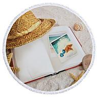 billiga Handdukar och badrockar-Överlägsen kvalitet Strand handduk, Mönster Polyester / Bomull Blandning 1 pcs