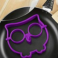 billige Eggeverktøy-kjøkken Verktøy Silikon Varmebestandig / baking Tool / Kreativ Kjøkken Gadget Gjør Det Selv Støpeform for Egg 1pc