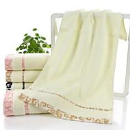billiga Handdukar och badrockar-Överlägsen kvalitet Tvätt handduk, Rutig Polyester / Bomull Blandning 1 pcs