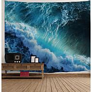 abordables Décoration Murale-Architecture Décoration murale Polyester Rétro Art mural, Tapisseries murales Décoration