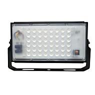 baratos Focos-1pç 50W Focos de LED Impermeável Branco 220V Iluminação Externa / Pátio / Jardim