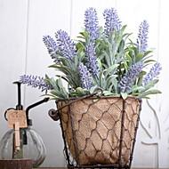 billige Kunstig Blomst-Kunstige blomster 1 Afdeling Vintage Lyseblå Bordblomst