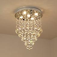 billiga Belysning-Ljuskronor / Takmonterad Kristall, Glödlampa inkluderad, 220V / 110V Glödlampa inkluderad / GU10 / 50-60㎡