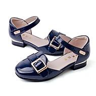 お買い得  女の子用靴-女の子 靴 エナメル 春夏 フラワーガールシューズ サンダル ベックル のために 子供 レッド / アーモンド / ネービーブルー