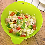 billiga Bordsservis-1 st Kiselgel Kreativ / Häftig Serverings- och salladsskål, servis