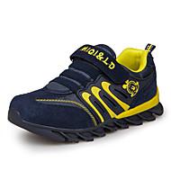 baratos Sapatos de Menino-Para Meninos Sapatos Malha Respirável Primavera Verão Conforto Tênis Presilha para Amarelo / Vermelho / Verde