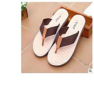 baratos Sapatos Masculinos-Homens EVA Verão Conforto Chinelos e flip-flops Preto / Café / Azul