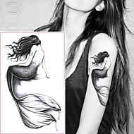billiga Temporära tatueringar-5pcs Klistermärken & Tejpar / Klistermärke tecknad serie Tatueringsklistermärken