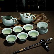 billige Kaffe og te-9pcs Porselen Tekannesett Varmebestandig ,  15*7.5;12*6;7*3;8*5cm