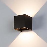 baratos Luzes para Espelho-OYLYW Impermeável / Estilo Mini LED / Moderno / Contemporâneo Luminárias de parede / Iluminação do banheiro Interior / Ao ar Livre Metal Luz de parede IP54 85-265V 6 W / Led Integrado