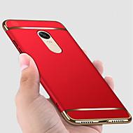 billiga Mobil cases & Skärmskydd-fodral Till Xiaomi Redmi Note 4X / Redmi Note 4 Plätering / Frostat Fodral Enfärgad Hårt PC för Redmi Note 5A / Xiaomi Redmi Note 4X / Xiaomi Redmi Note 4