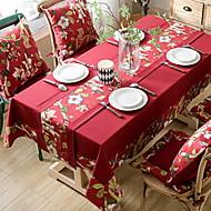 billige Bordduker-Moderne Andre / Bomull Kvadrat Duge Blomstret / Geometrisk Borddekorasjoner
