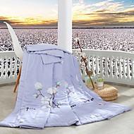 billiga Täcken och överkast-Bekväm - 1 st. Sängöverkast Vår & Höst Polyester Blommig