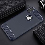 billiga Mobil cases & Skärmskydd-fodral Till Apple iPhone X / iPhone 6s Ultratunt Skal Enfärgad Mjukt TPU för iPhone X / iPhone 8 Plus / iPhone 8