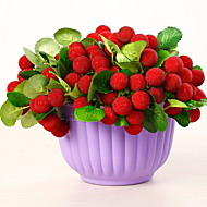 voordelige Kunstbloemen-Kunstbloemen 1 Tak Rustiek Fruit Bloemen voor op tafel