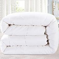 billiga Täcken och överkast-Bekväm - 1 st. Sängöverkast Vinter Bomull Enfärgad