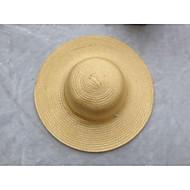 Χαμηλού Κόστους Αξεσουάρ-Γιούνισεξ Μονόχρωμο Γραφείο Γιορτή Ψάθινο καπέλο