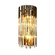 billige Vegglamper-QIHengZhaoMing Krystall / Øyebeskyttelse Moderne / Nutidig Vegglamper Stue / Leserom / Kontor Metall Vegglampe 110-120V / 220-240V 10W