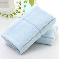 billiga Handdukar och badrockar-Överlägsen kvalitet Tvätt handduk, Enfärgad Polyester / Bomull Blandning / 100% bomull 1 pcs